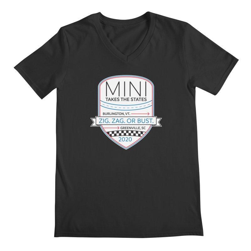 MTTS 2020 - Color Men's Regular V-Neck by TwistyMini Motoring Shirts