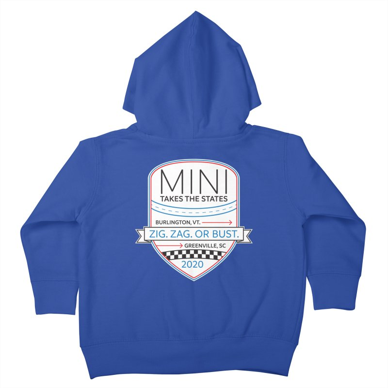 MTTS 2020 - Color Kids Toddler Zip-Up Hoody by TwistyMini Motoring Shirts