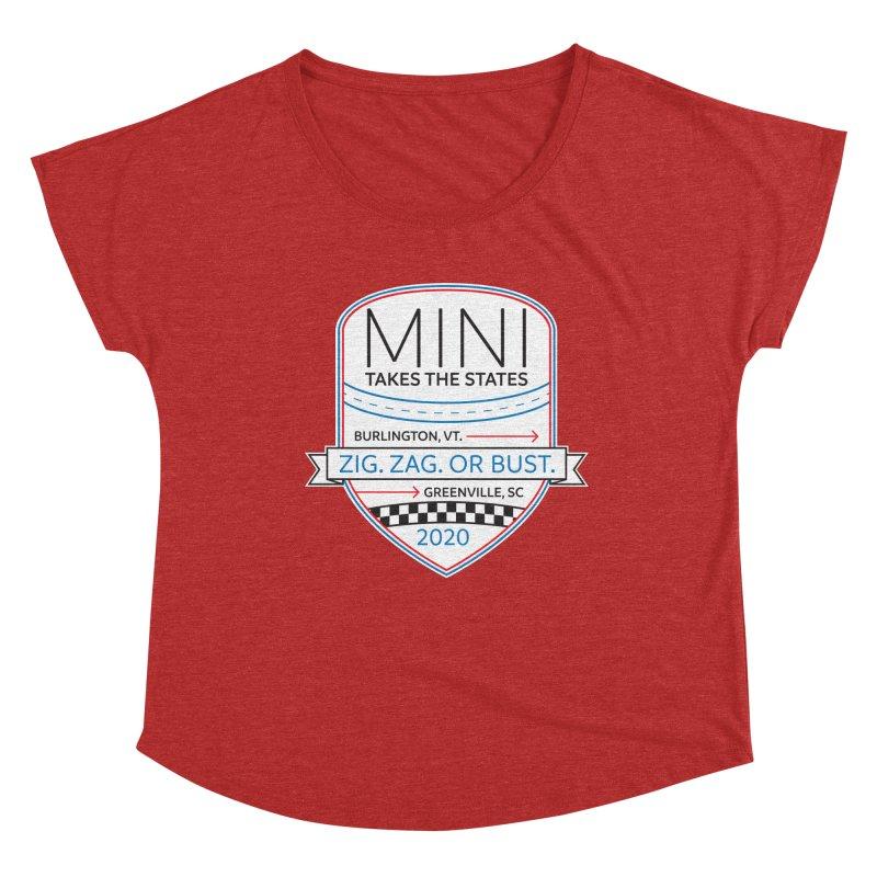 MTTS 2020 - Color Women's Dolman Scoop Neck by TwistyMini Motoring Shirts
