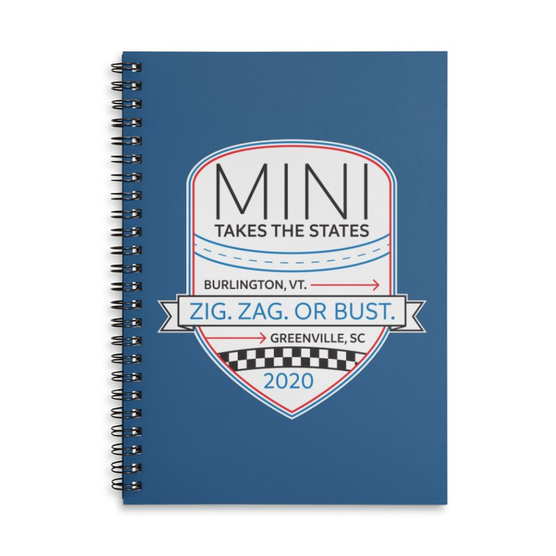 MTTS 2020 - Color Accessories Lined Spiral Notebook by TwistyMini Motoring Shirts