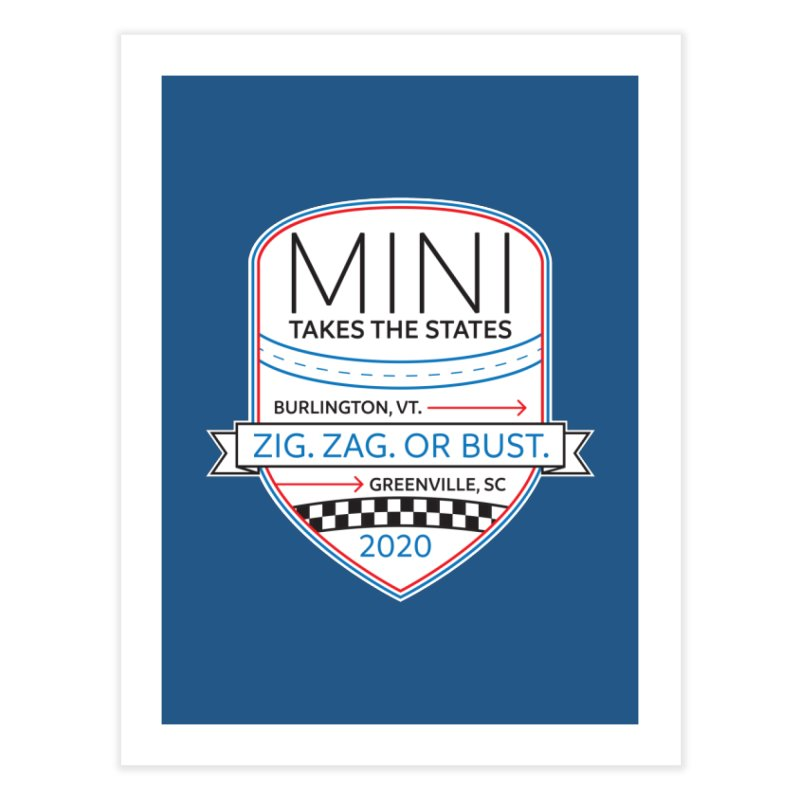 MTTS 2020 - Color Home Fine Art Print by TwistyMini Motoring Shirts