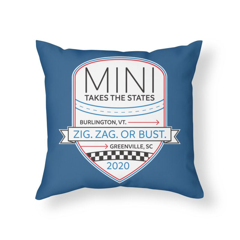 MTTS 2020 - Color Home Throw Pillow by TwistyMini Motoring Shirts