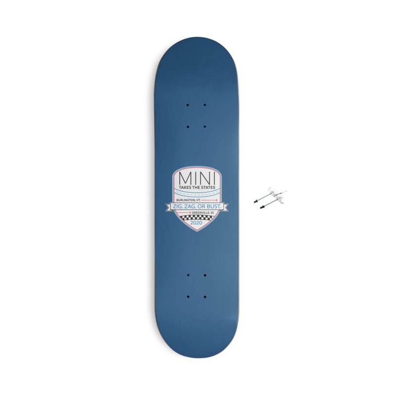 MTTS 2020 - Color Accessories With Hanging Hardware Skateboard by TwistyMini Motoring Shirts