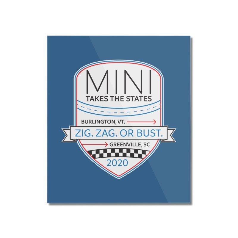 MTTS 2020 - Color Home Mounted Acrylic Print by TwistyMini Motoring Shirts