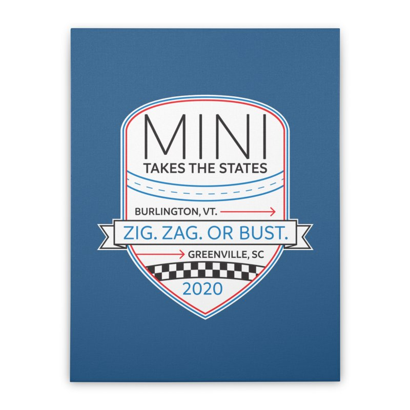 MTTS 2020 - Color Home Stretched Canvas by TwistyMini Motoring Shirts