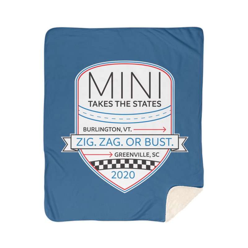 MTTS 2020 - Color Home Sherpa Blanket Blanket by TwistyMini Motoring Shirts