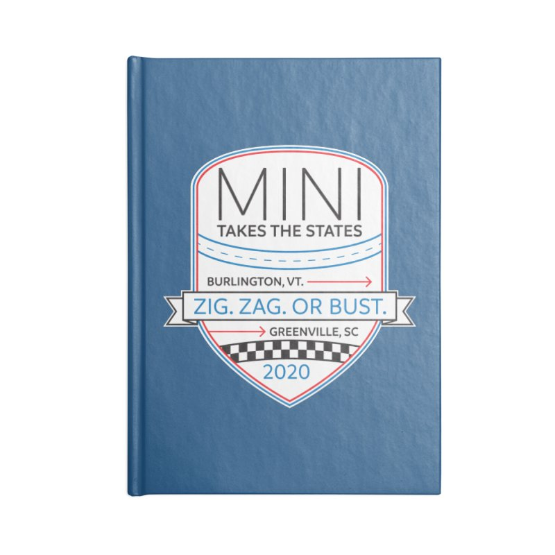 MTTS 2020 - Color Accessories Blank Journal Notebook by TwistyMini Motoring Shirts