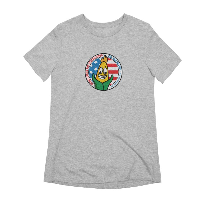 Corny Takes the States 2020 - Circle Women's Extra Soft T-Shirt by TwistyMini Motoring Shirts