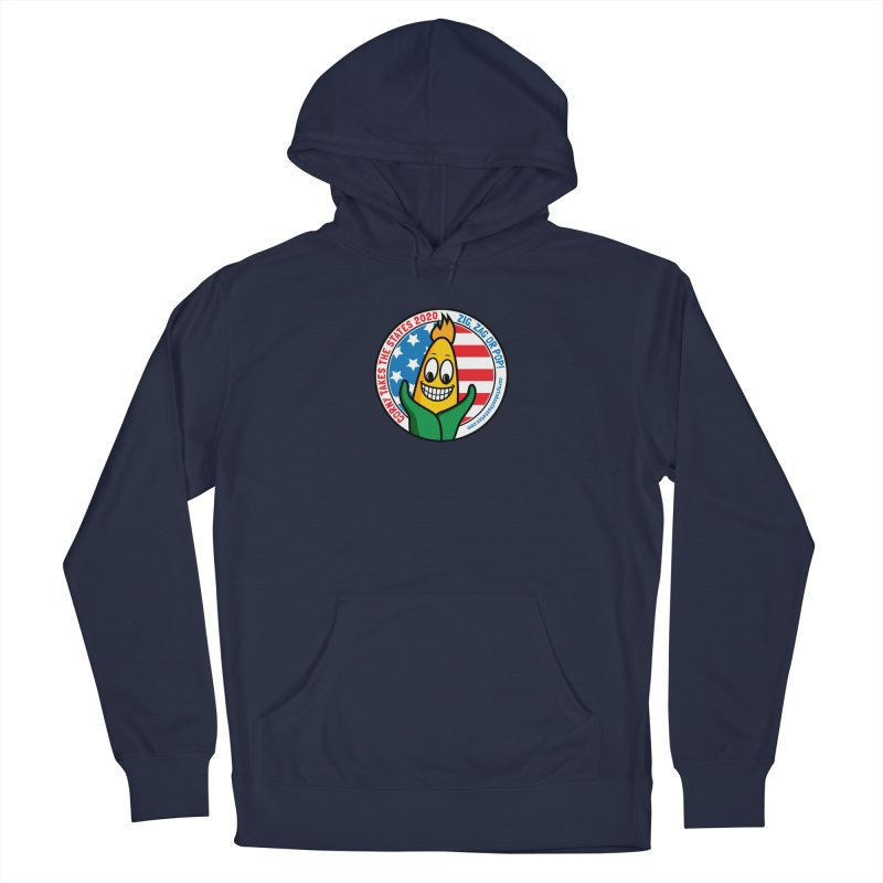 Corny Takes the States 2020 - Circle Women's French Terry Pullover Hoody by TwistyMini Motoring Shirts