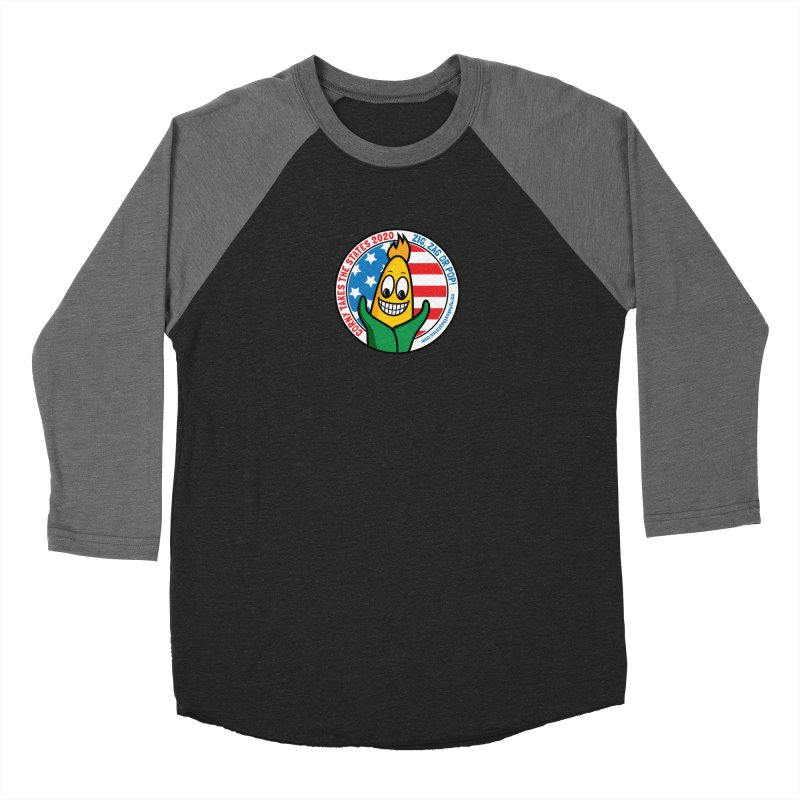Corny Takes the States 2020 - Circle Men's Baseball Triblend Longsleeve T-Shirt by TwistyMini Motoring Shirts