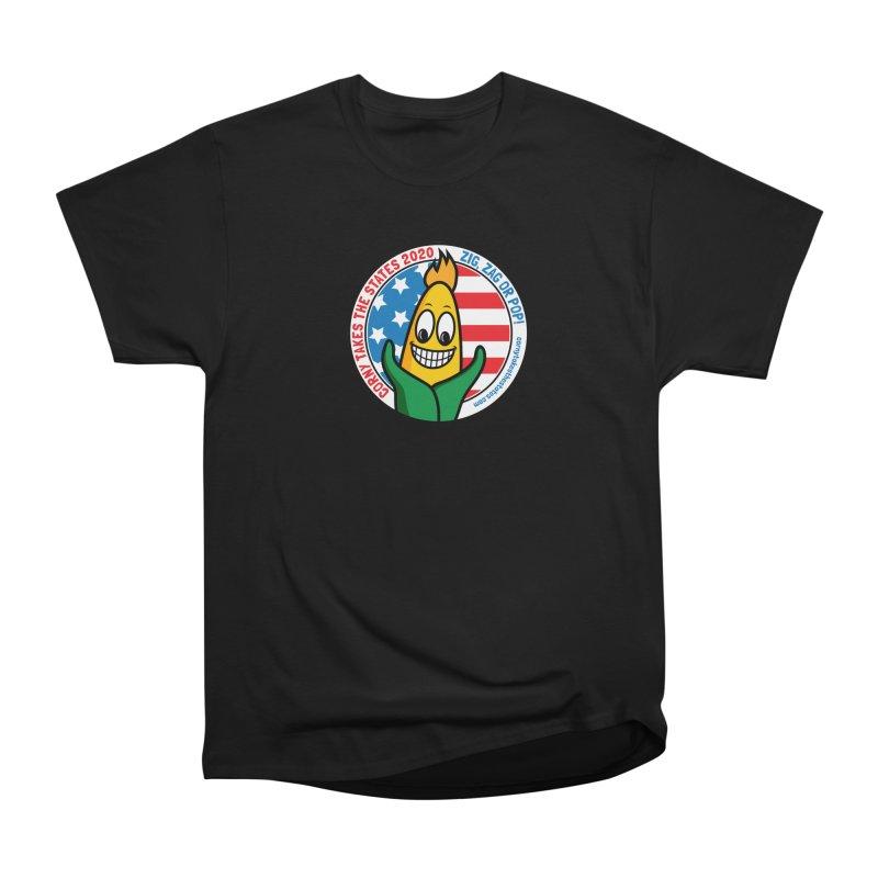 Corny Takes the States 2020 - Circle Men's Heavyweight T-Shirt by TwistyMini Motoring Shirts