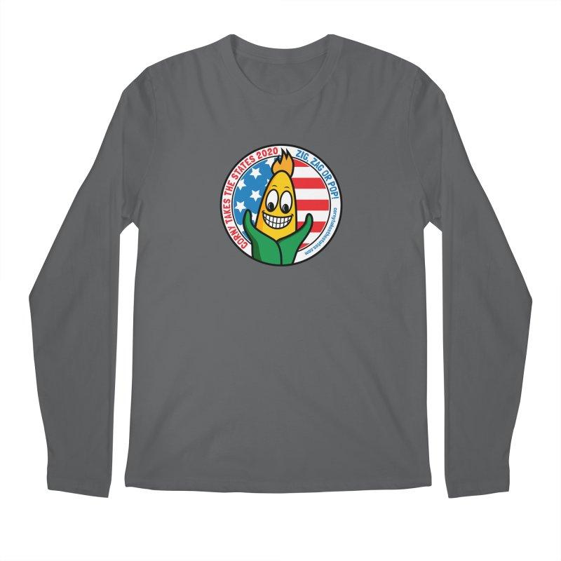 Corny Takes the States 2020 - Circle Men's Regular Longsleeve T-Shirt by TwistyMini Motoring Shirts