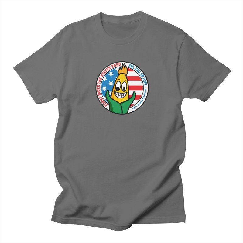 Corny Takes the States 2020 - Circle Men's T-Shirt by TwistyMini Motoring Shirts