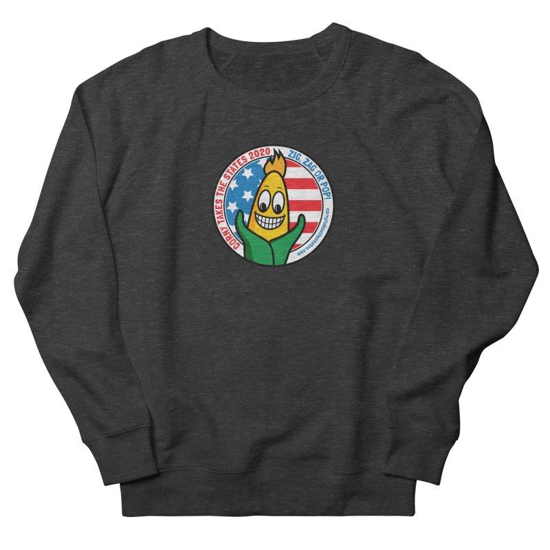 Corny Takes the States 2020 - Circle Women's French Terry Sweatshirt by TwistyMini Motoring Shirts