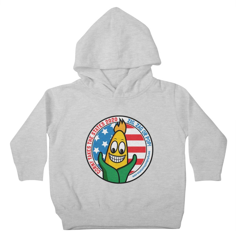 Corny Takes the States 2020 - Circle Kids Toddler Pullover Hoody by TwistyMini Motoring Shirts