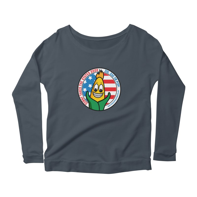 Corny Takes the States 2020 - Circle Women's Scoop Neck Longsleeve T-Shirt by TwistyMini Motoring Shirts