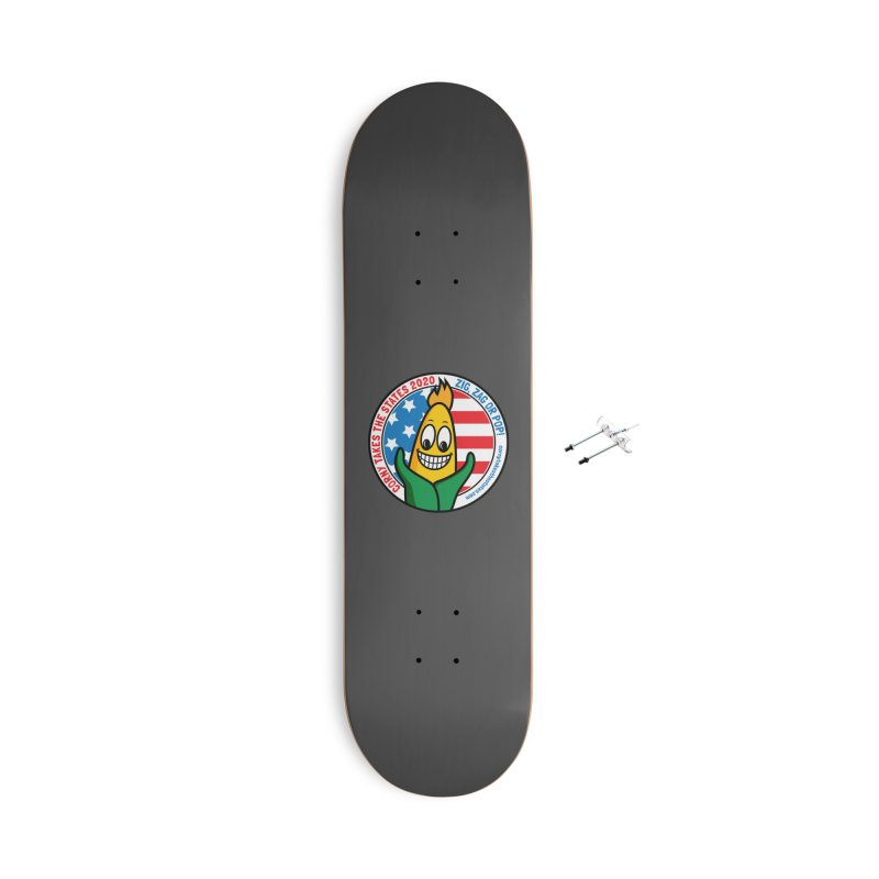 Corny Takes the States 2020 - Circle Accessories With Hanging Hardware Skateboard by TwistyMini Motoring Shirts