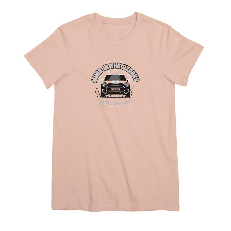 MINIS in the Ozarks 2020 - Classic Women's Premium T-Shirt by TwistyMini Motoring Shirts
