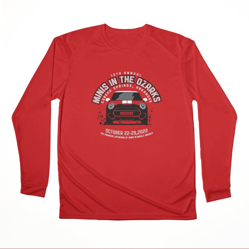 MINIS in the Ozarks 2020 - Classic Men's Performance Longsleeve T-Shirt by TwistyMini Motoring Shirts