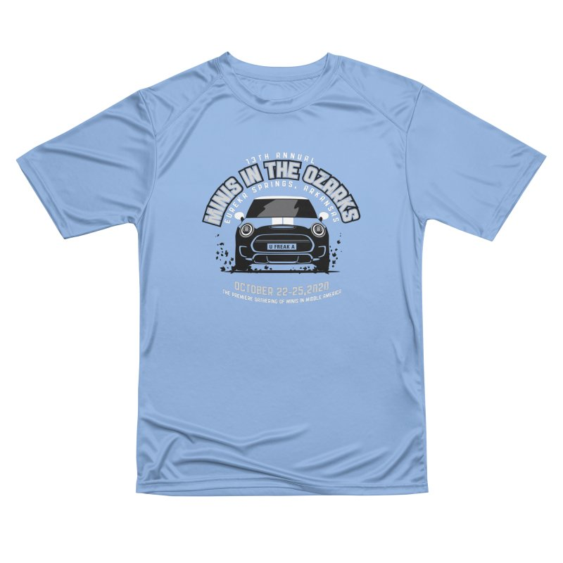 MINIS in the Ozarks 2020 - Classic Men's Performance T-Shirt by TwistyMini Motoring Shirts