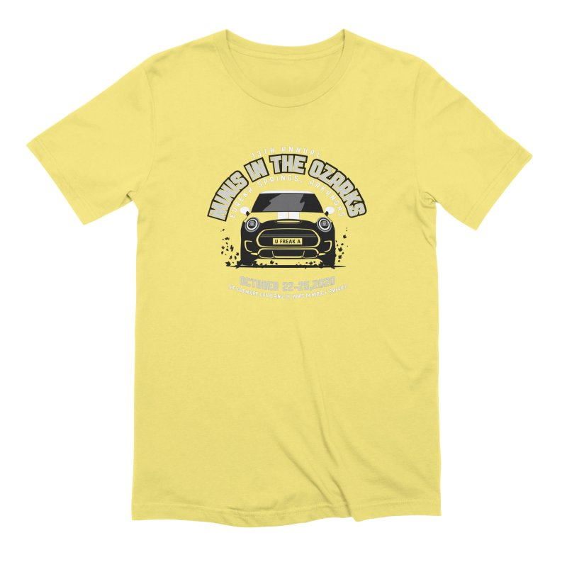 MINIS in the Ozarks 2020 - Classic Men's Extra Soft T-Shirt by TwistyMini Motoring Shirts