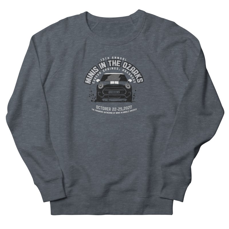 MINIS in the Ozarks 2020 - Classic Men's French Terry Sweatshirt by TwistyMini Motoring Shirts