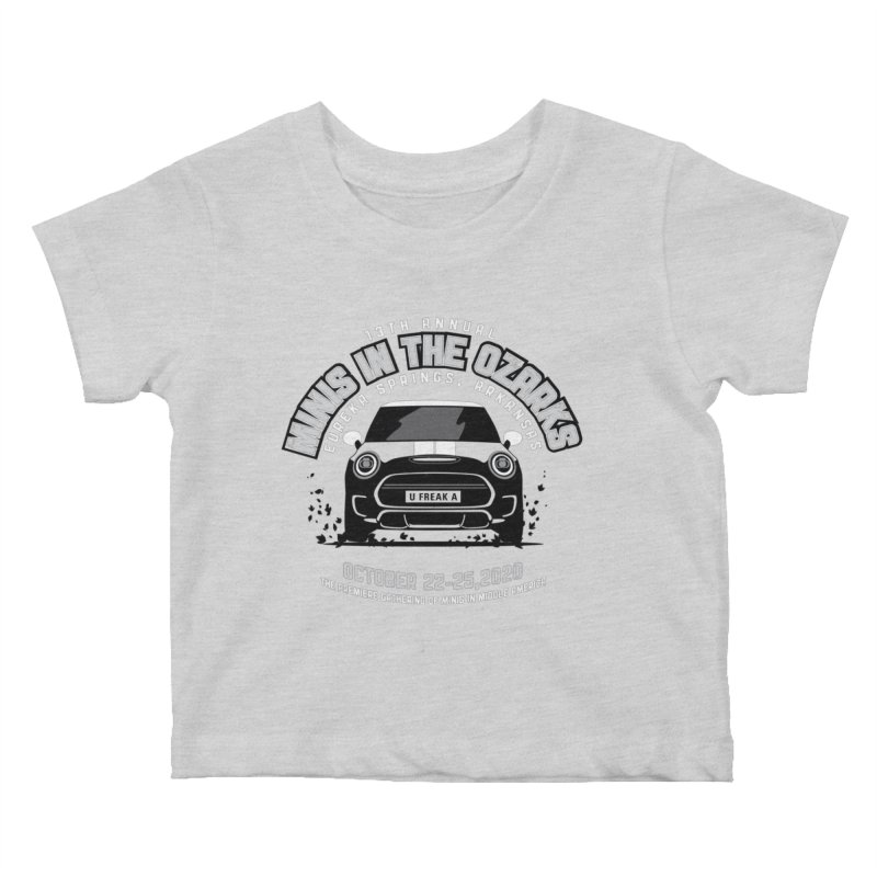 MINIS in the Ozarks 2020 - Classic Kids Baby T-Shirt by TwistyMini Motoring Shirts