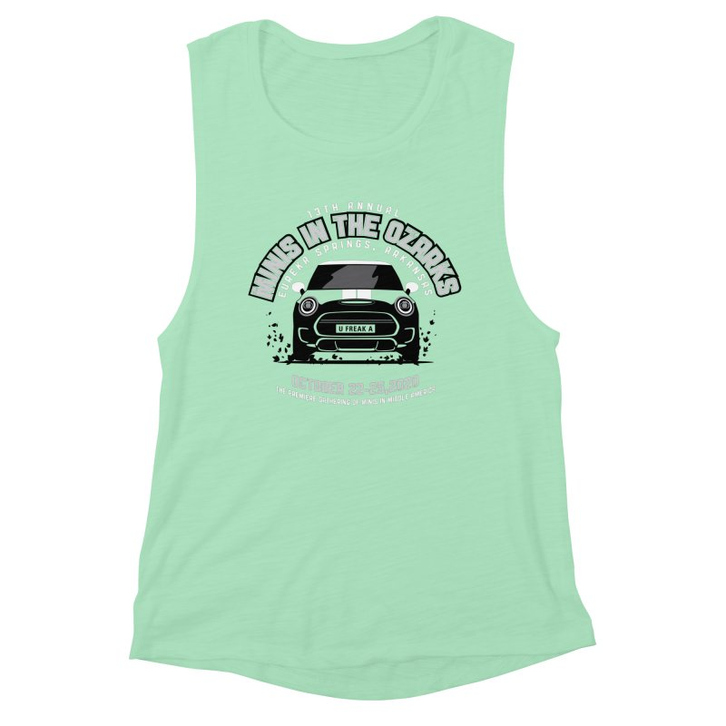 MINIS in the Ozarks 2020 - Classic Women's Muscle Tank by TwistyMini Motoring Shirts