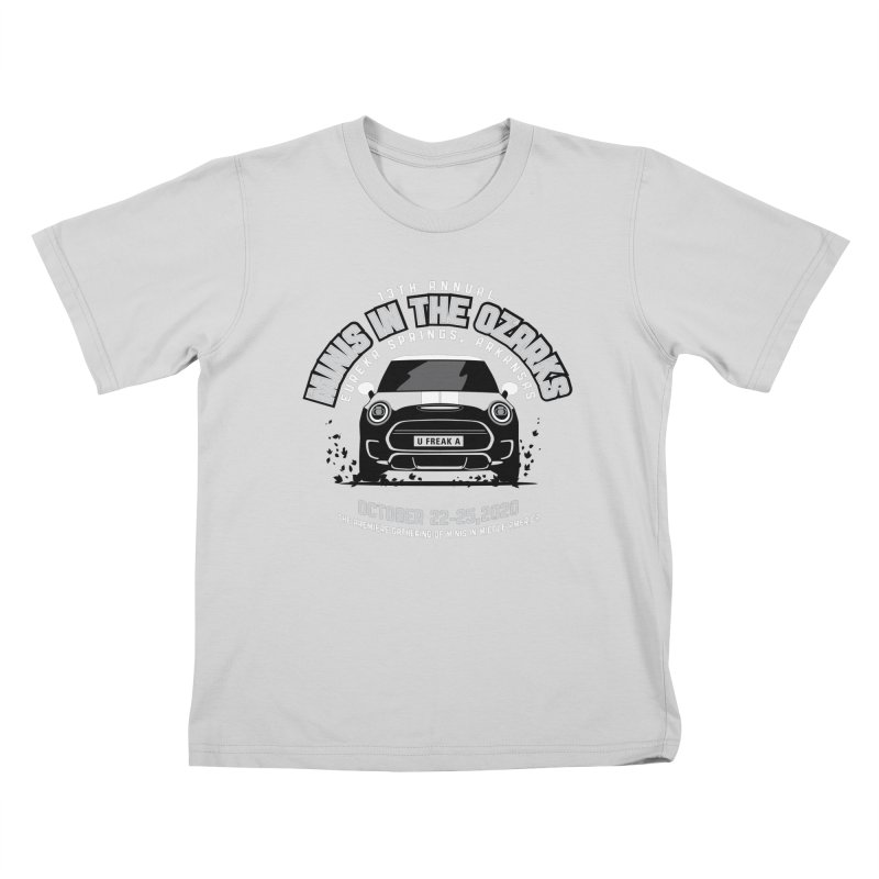 MINIS in the Ozarks 2020 - Classic Kids T-Shirt by TwistyMini Motoring Shirts