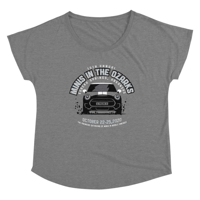 MINIS in the Ozarks 2020 - Classic Women's Dolman Scoop Neck by TwistyMini Motoring Shirts