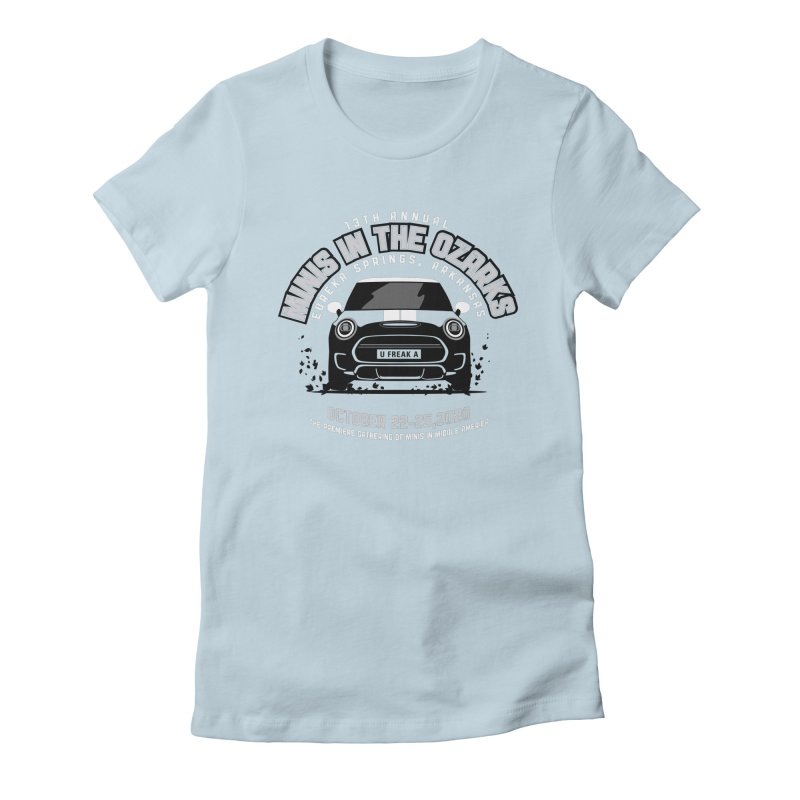 MINIS in the Ozarks 2020 - Classic Women's Fitted T-Shirt by TwistyMini Motoring Shirts