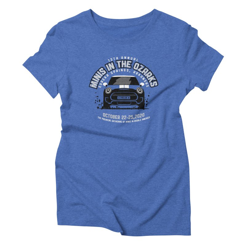 MINIS in the Ozarks 2020 - Classic Women's Triblend T-Shirt by TwistyMini Motoring Shirts