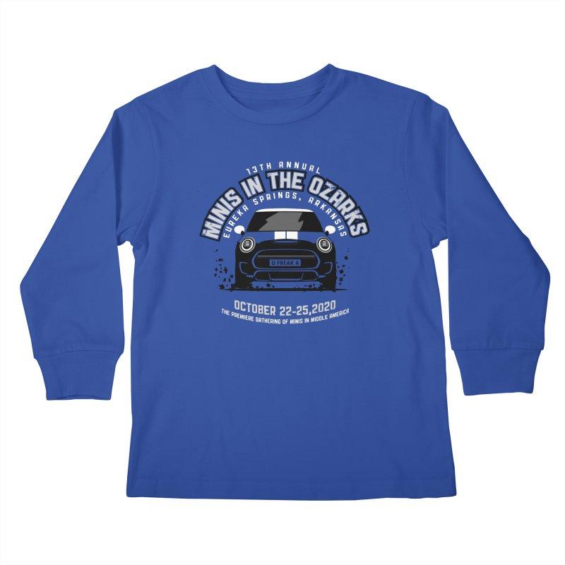 MINIS in the Ozarks 2020 - Classic Kids Longsleeve T-Shirt by TwistyMini Motoring Shirts