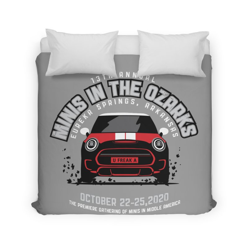 MINIS in the Ozarks 2020 - Classic - Red Car Home Duvet by TwistyMini Motoring Shirts
