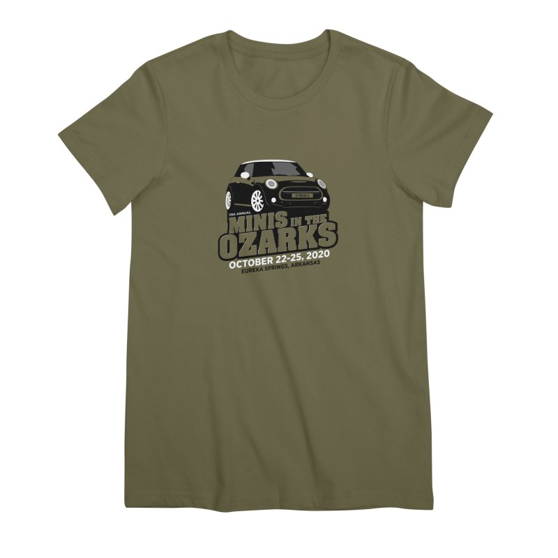 MINIS in the Ozarks 2020 Women's Premium T-Shirt by TwistyMini Motoring Shirts