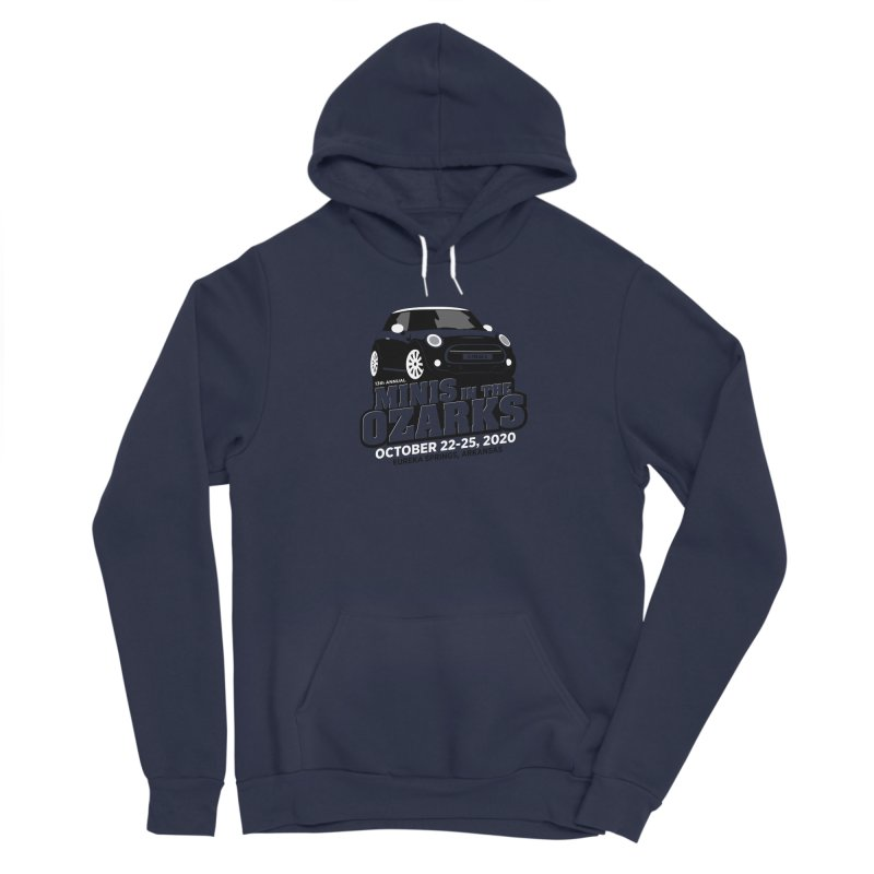 MINIS in the Ozarks 2020 Men's Sponge Fleece Pullover Hoody by TwistyMini Motoring Shirts