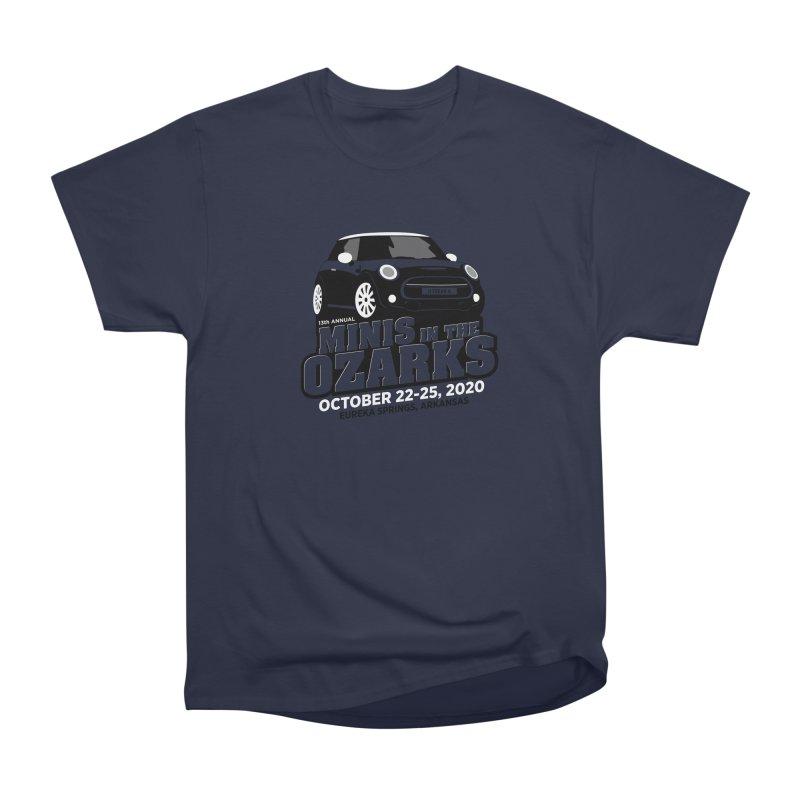 MINIS in the Ozarks 2020 Men's Heavyweight T-Shirt by TwistyMini Motoring Shirts