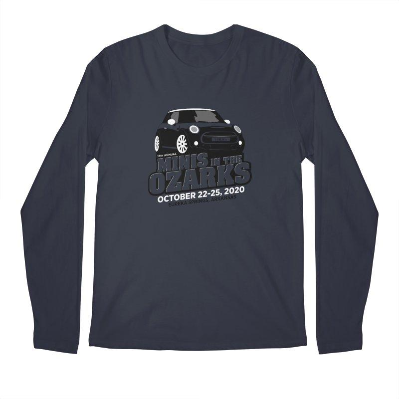MINIS in the Ozarks 2020 Men's Regular Longsleeve T-Shirt by TwistyMini Motoring Shirts
