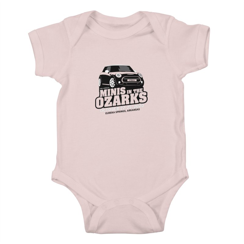 MINIS in the Ozarks 2020 Kids Baby Bodysuit by TwistyMini Motoring Shirts