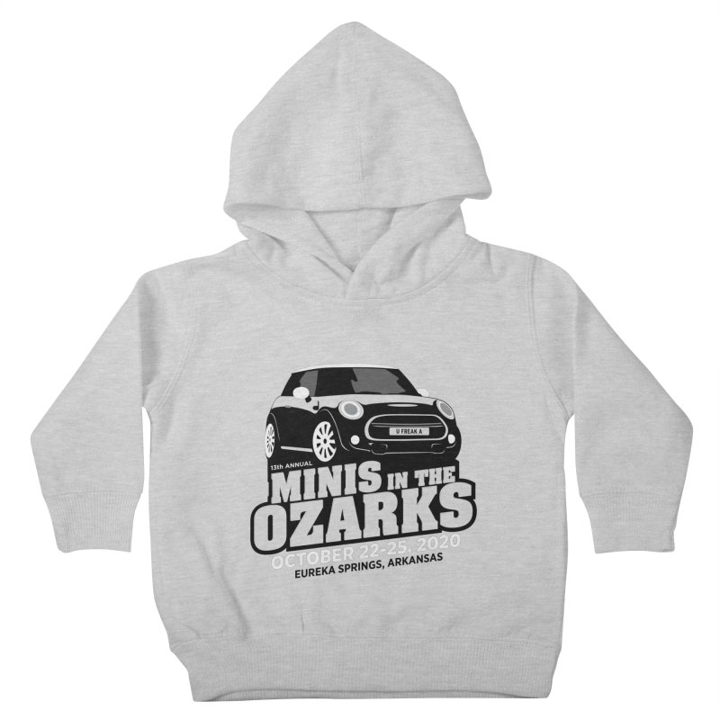MINIS in the Ozarks 2020 Kids Toddler Pullover Hoody by TwistyMini Motoring Shirts