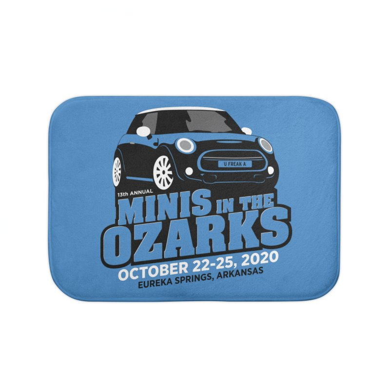 MINIS in the Ozarks 2020 Home Bath Mat by TwistyMini Motoring Shirts