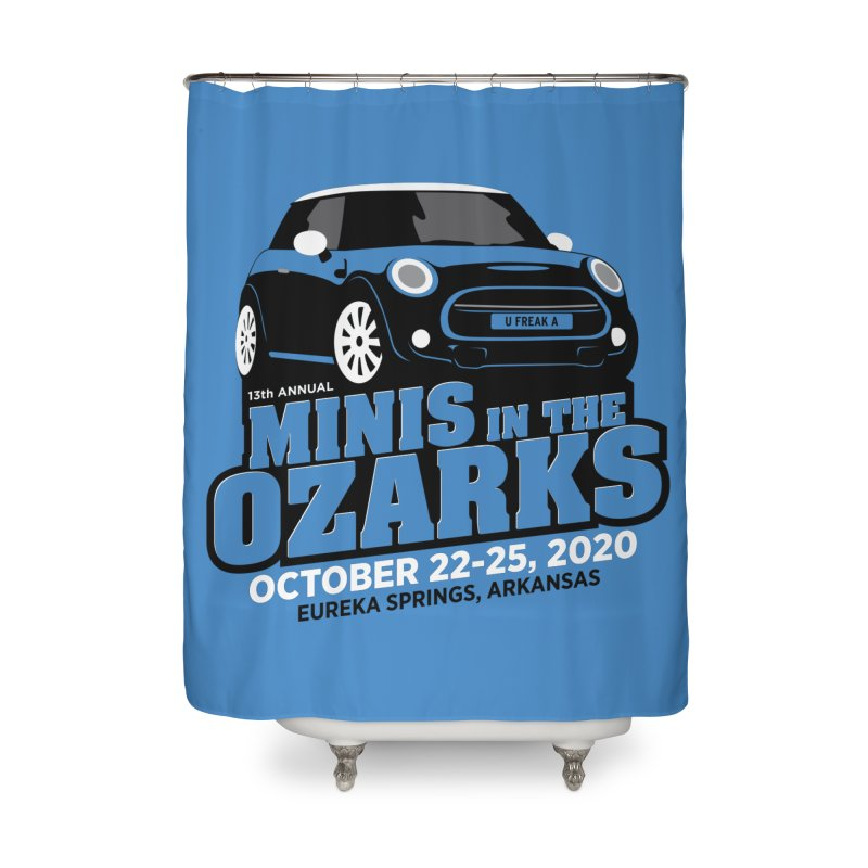MINIS in the Ozarks 2020 Home Shower Curtain by TwistyMini Motoring Shirts