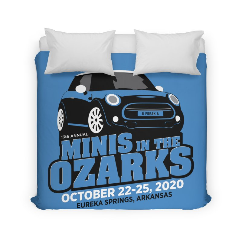 MINIS in the Ozarks 2020 Home Duvet by TwistyMini Motoring Shirts