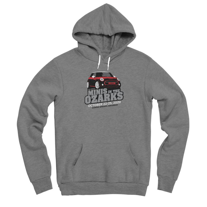 MINIS in the Ozarks 2020 - Red Car Women's Sponge Fleece Pullover Hoody by TwistyMini Motoring Shirts