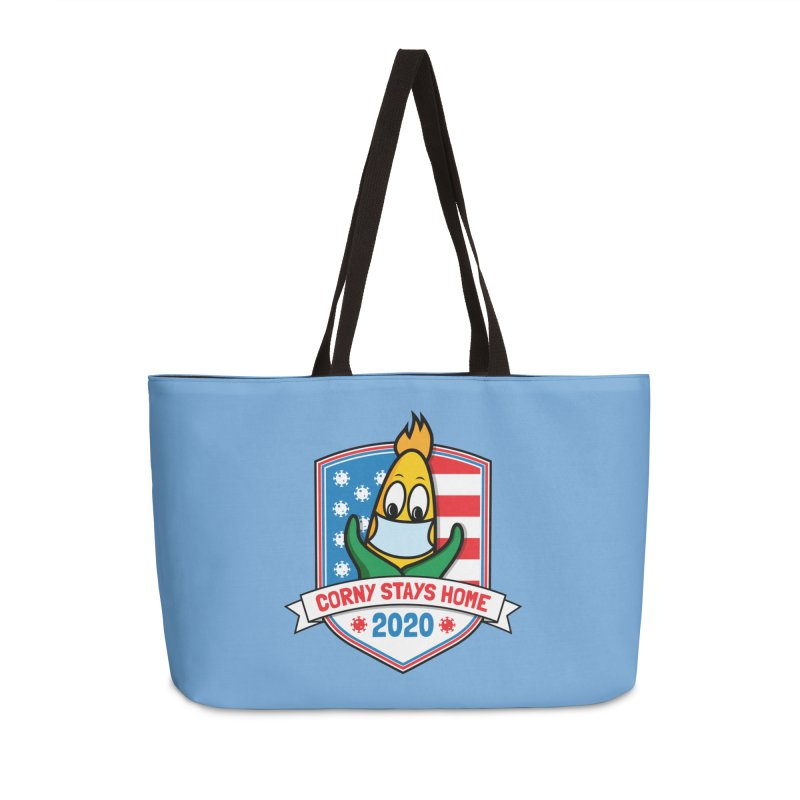 Corny Stays Home 2020 Accessories Bag by TwistyMini Motoring Shirts