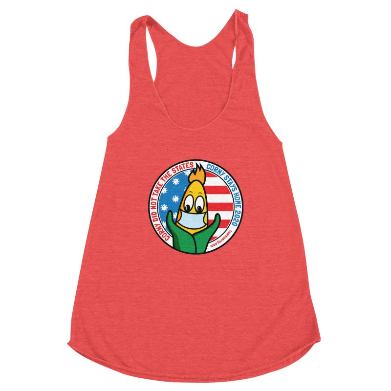 Corny Did Not Take the States 2020 Women's Tank by TwistyMini Motoring Shirts