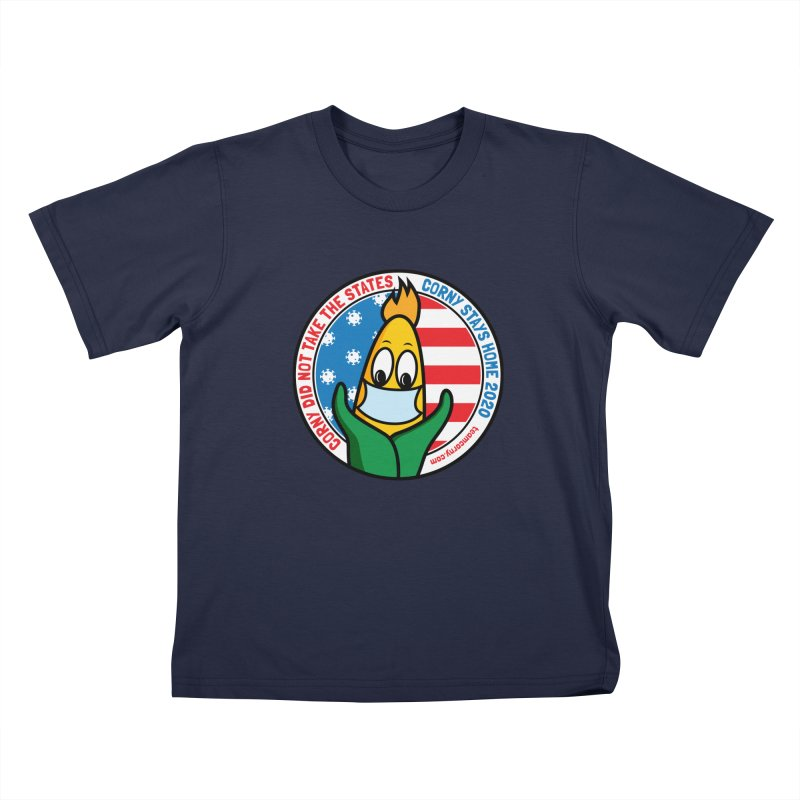 Corny Did Not Take the States 2020 Kids T-Shirt by TwistyMini Motoring Shirts
