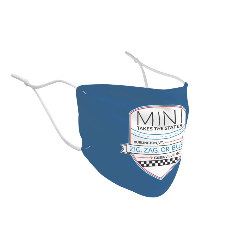 Mini Takes the States 2021 Accessories Face Mask by TwistyMini Motoring Shirts
