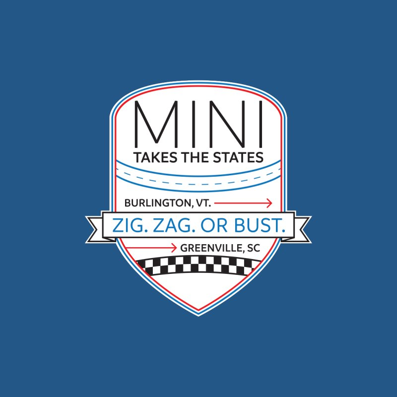 Mini Takes the States 2021 Men's T-Shirt by TwistyMini Motoring Shirts