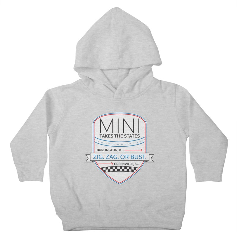 Mini Takes the States 2021 Kids Toddler Pullover Hoody by TwistyMini Motoring Shirts